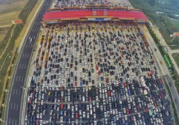 Çin'de bayram trafiği!