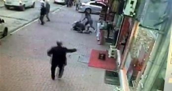 Tokat'daki deprem paniği güvenlik kamerasında!