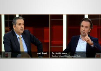 Akif Beki, ÖSO liderine PYD ve IŞİD sorusu