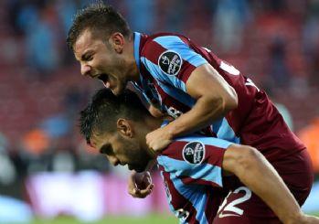 Trabzonspor son saniye golüyle kazandı