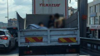 İstanbul'da tehlikeli yolculuk