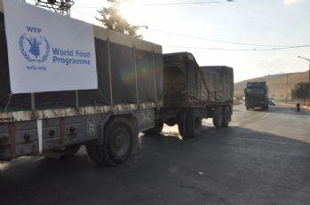 BM'nin 34 yardım TIR'ı daha İdlib'e gitti