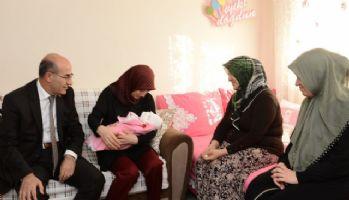 15 Temmuz şehidi polisin bebeği dünyaya geldi