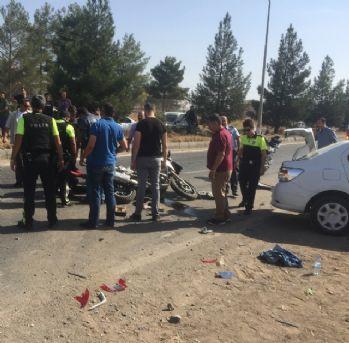Diyarbakır'da kaza: 2'si polis, 3 yaralı