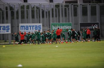 Bursaspor'da Gaziantepspor hazırlıkları başladı