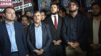 AK Partililerden Halep saldırısına kınama