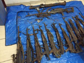 6 terörist cesedi bulundu
