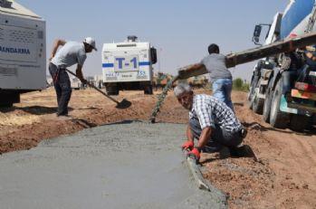 Sınırdaki güvenlik duvarı çalışmaları hızlandı
