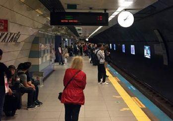 İstanbul metrosunda korkunç olay!