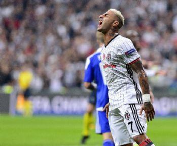 Beşiktaş ilk yarıyı üstün bitirdi