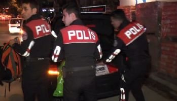 Polisten kaçan araçtan 120 bin TL'lik uyuşturucu çıktı