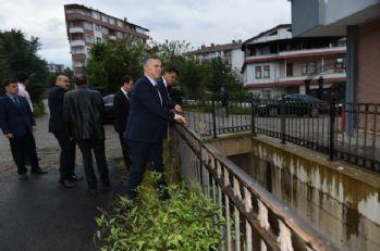DSİ Genel Müdürü felaket bölgesinde