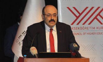 YÖK Başkanı Saraç Beştepe'ye çıktı
