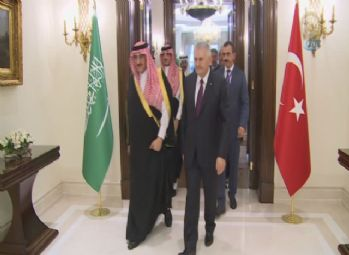 Başbakan Yıldırım, Suudi Prens ile görüştü
