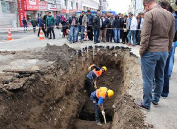 Erzurum'da 'Osmanlı su kanalları' bulundu
