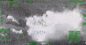 PKK'nın bombalı aracı ATAK tarafından böyle vuruldu