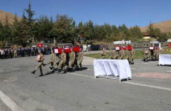 Şehit köy korucuları için tören düzenlendi