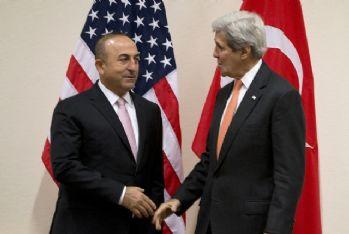 Bakan Çavuşoğlu, ABD'li mevkidaşı Kerry ile görüştü