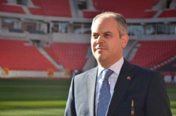 Eskişehirspor'un yeni stadını ve yurtları gezdi