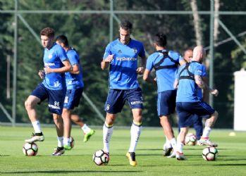 F.Bahçe'de Osmanlıspor maçı hazırlıkları başladı