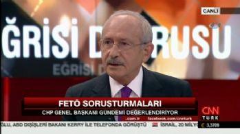 Kılıçdaroğlu FETÖ'den tutuklanan gazetecilere sahip çıktı