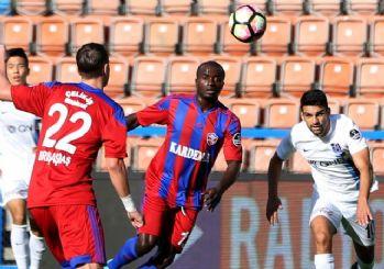 Trabzonspor, Karabük'te fark yedi! 4-0