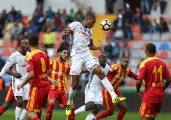 Beşiktaş Kayserispor engelini tek golle geçti! 1-0