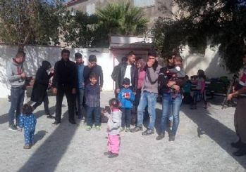 Didim'de 21 kaçak yakalandı