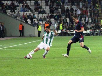 Atiker Konyaspor, Braga'yı deviremedi
