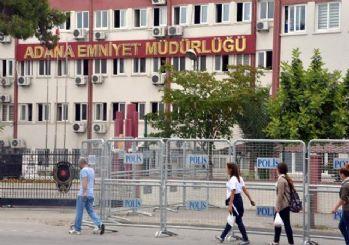 Adana'da Emniyet Müdürlüğü yakınlarına ses bombası atıldı