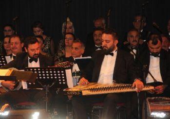 Ankara Devlet Türk Müziği Korosu Elazığ'da konser verdi