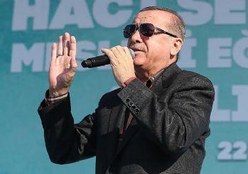 Erdoğan: Suriye'de 600 bin insana sessiz kaldılar