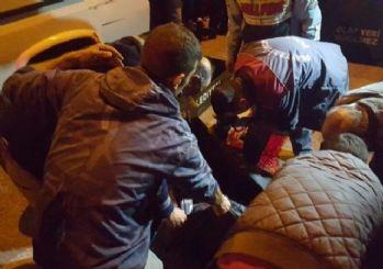Kuşadası'nda motosiklete çarpıp kaçan otomobilin sahibi yakalandı