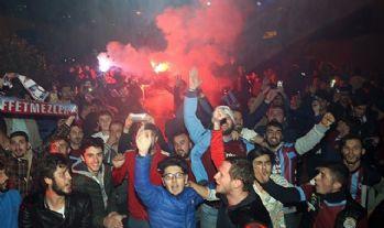 Trabzon'da coşkulu karşılama