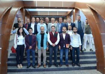 Vali Deniz, gazetecilerle buluştu