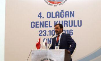 Atletizm Federasyonu'nda Fatih Çintimar yeniden başkan