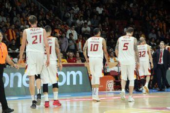 Galatasaray Banvit'e boyun eğdi