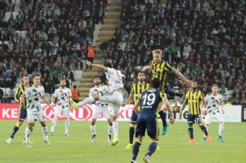 İlk yarı Fenerbahçe'nin