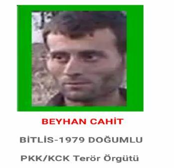 PKK'ya ağır darbe: Başına 1 milyon TL ödül konmuştu