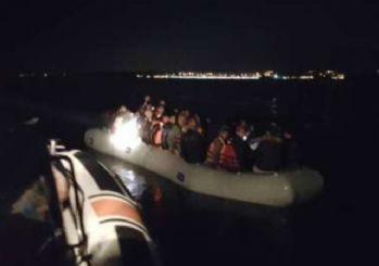 Kuşadası Körfezi'nde kaçak göçmen operasyonu