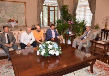 Manisa Elektronikçiler Odası'ndan Vali Güvençer'e ziyaret