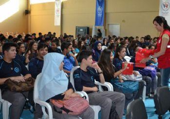 Yüreğir Gençlik Merkezi tarafından öğrencilere 'Vatan ve Bayrak Sevgisi' etkinliği
