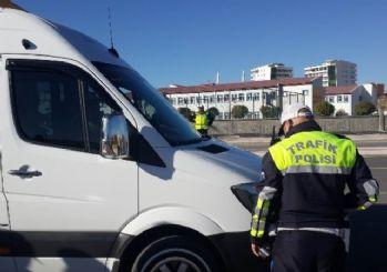 Servis şoförü alkollü çıktı