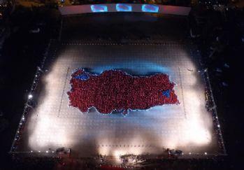 Dev Türkiye haritası için Guinness'e başvuru yapıldı