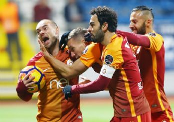 Galatasaray, Kasımpaşa'yı 2-1 mağlup etti!