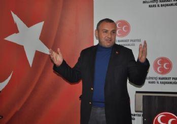 MHP Kars il Başkanı Özcan, Türkiye gündemini değerlendirdi