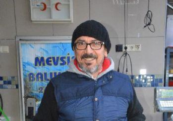 Sinop'ta yakalanan 8 kiloluk levrek 500 TL'ye satıldı