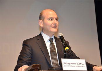 İçişleri Bakanı Soylu: Gençlerimize şiddeti, silahı, önerenlere karşı bizim önerimiz iş, aş, eğitim