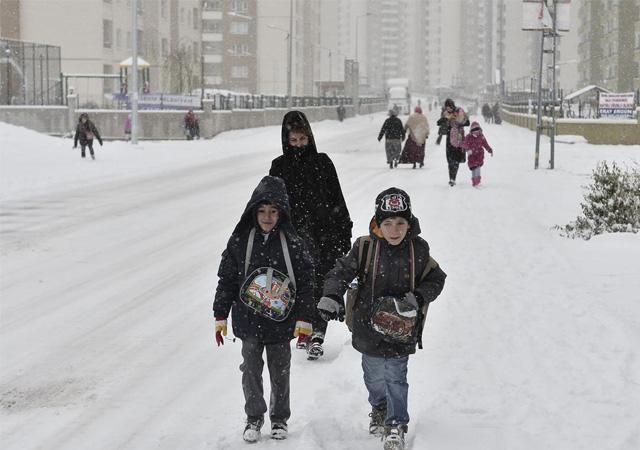 Hangi illerde okullar kar tatili oldu? 23 Aralık cuma kar tatili