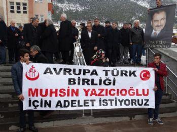 Yazıcıoğlu davasında Dursun Özmen'in yargılamasına devam edildi